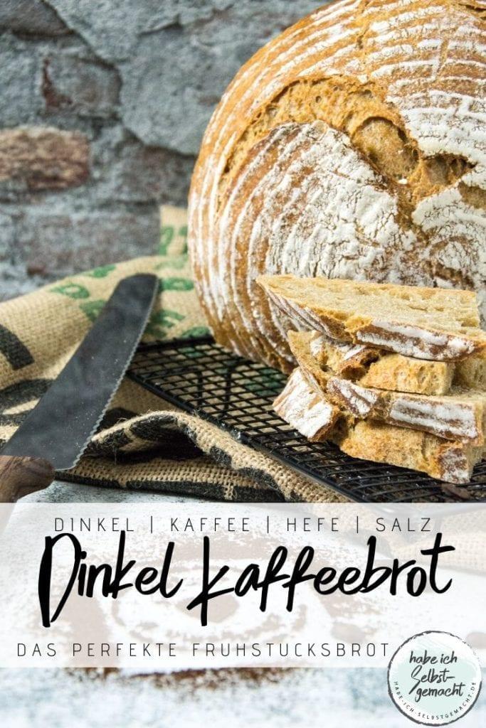 Dinkel Kaffeebrot Pinterest Flyer