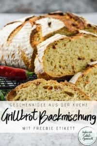 Grillbrot Backmischung im Glas