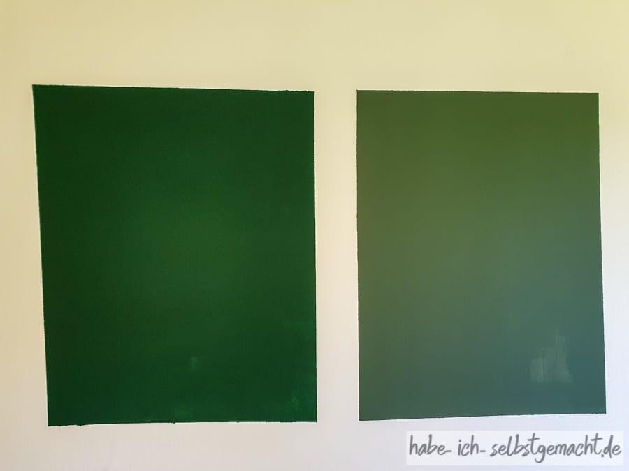 Farbauswahl für die Wand
