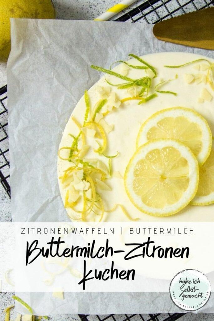 No Bake Zitronenkuchen