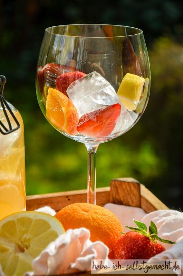 Sommerdrink Sangria selber machen