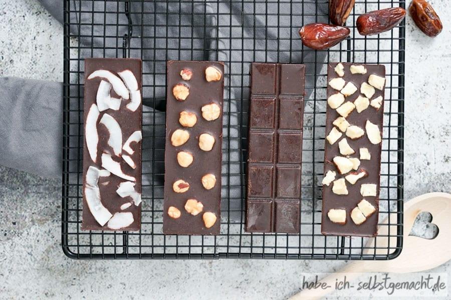 Dattelschokolade