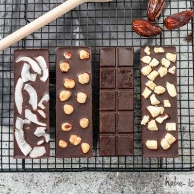 Dattel Schokolade (vegan)