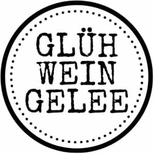 Etikett Glühweingelee