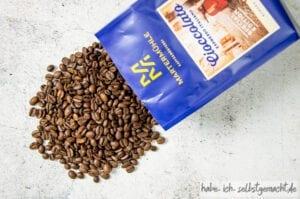 Gesunde Brownies mit Kaffee