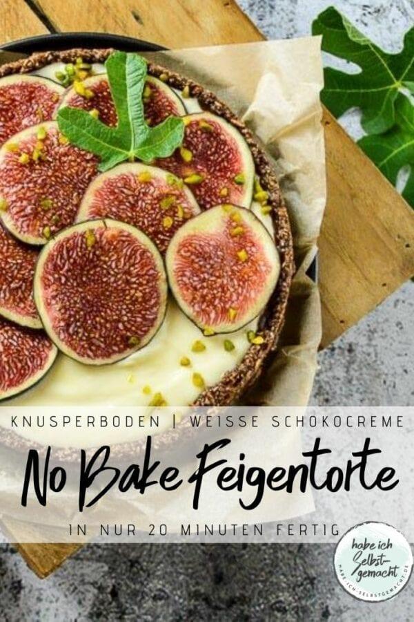 No Bake Feigentarte Rezept