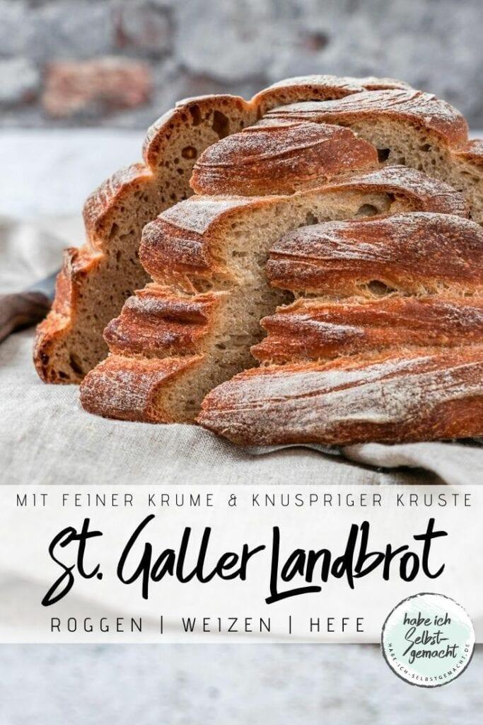 Sankt Galler Landbrot Rezept