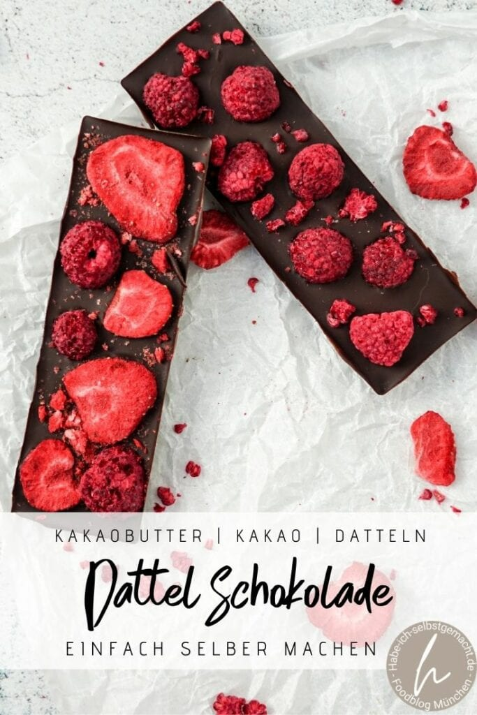 Schokolade ohne Zucker selber machen