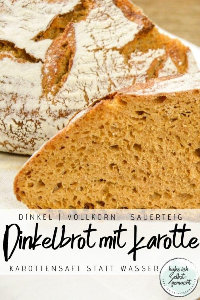 Dinkel Karotte Brot