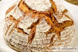 Dinkel Karotten Brot