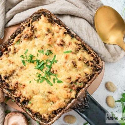 Gnocchi al forno mit Pilzen
