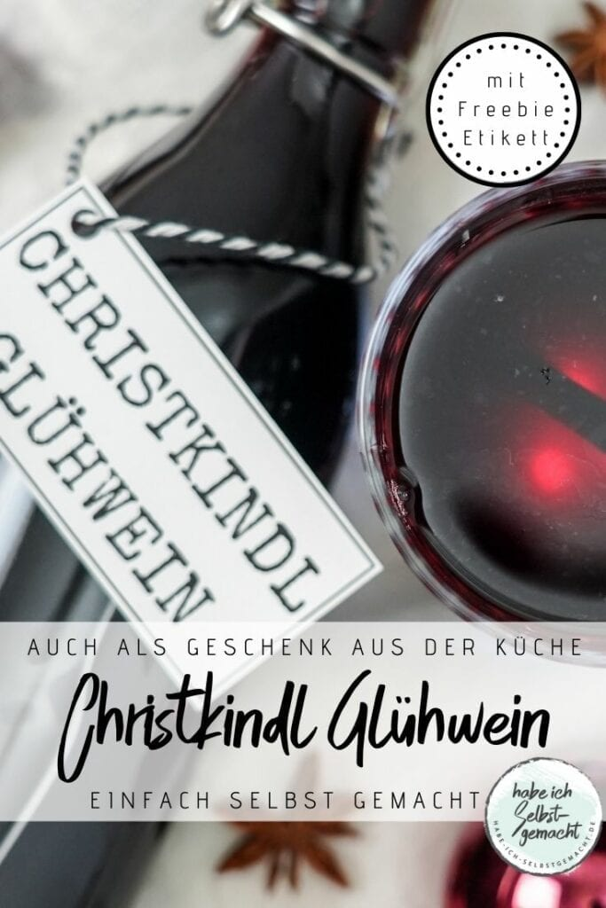 Christkindl Glühwein Rezept