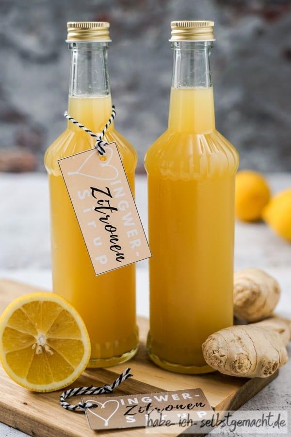 Ingwer-Zitronen Sirup aus dem Thermomix