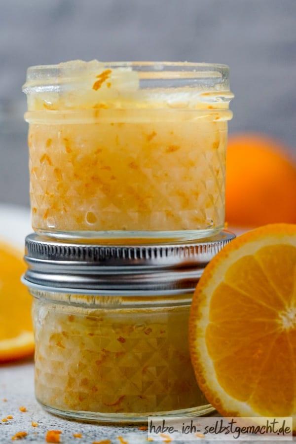 Orangen Peeling