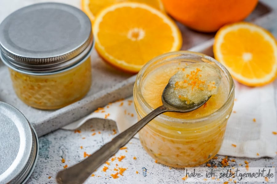 Kokos-Orangen Peeling