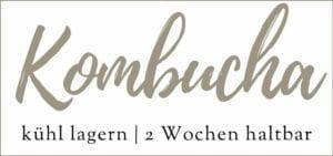 Kombucha Etikett