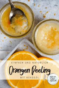 Orangen Kokos Peeling