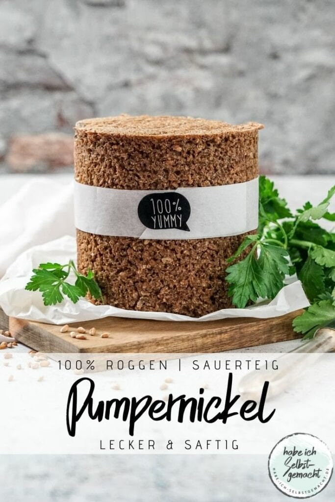 Pumpernickel Pinterest Flyer