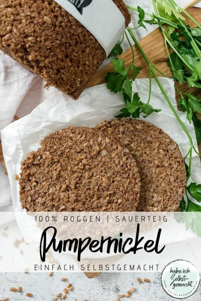 Pumpernickel Pinterest Flyer