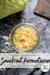 Frisches Sauerkraut selber machen