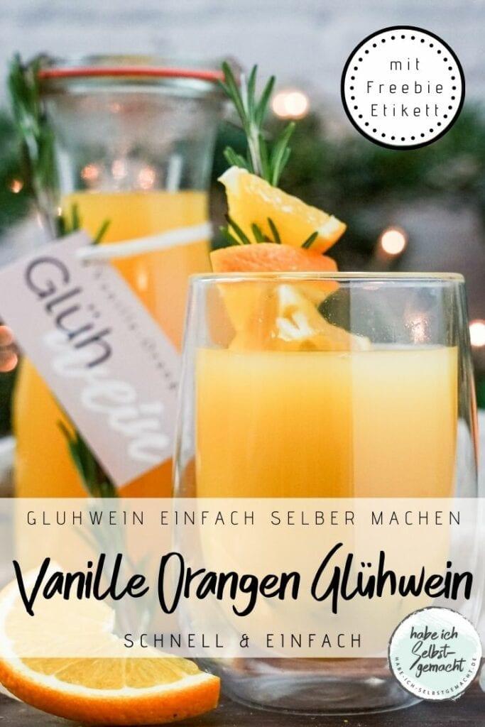 Orangen Glühwein Rezept
