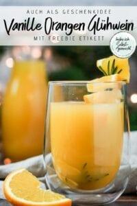 Vanille Orangen Glühwein selber machen