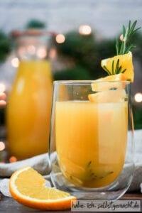 Fruchtiger Orangen Glühwein