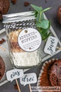 Adventskalender Muffins