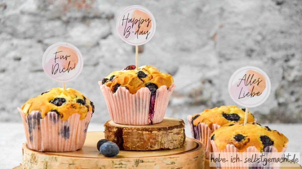 Blaubeer Muffins Backmischung