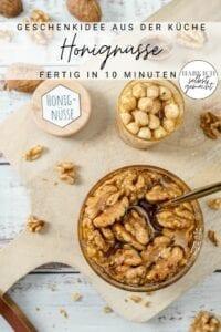 Nüsse in Honig (Honignüsse) - Geschenkidee
