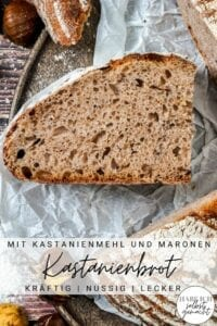 Kastanienbrot Maronenbrot Rezept