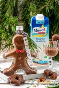 Laktosefreier Lebkuchenlikör mit MinusL