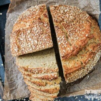 Brot #83 – Norwegisches Haferflockenbrot
