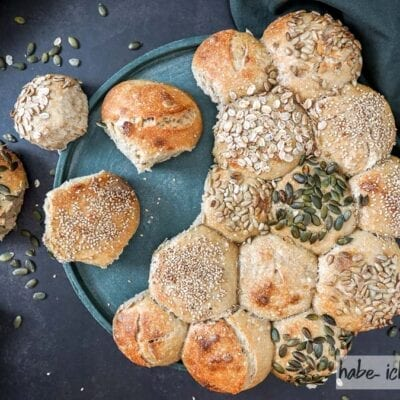 Brot #85 – Partybrötchen (Semmelring)