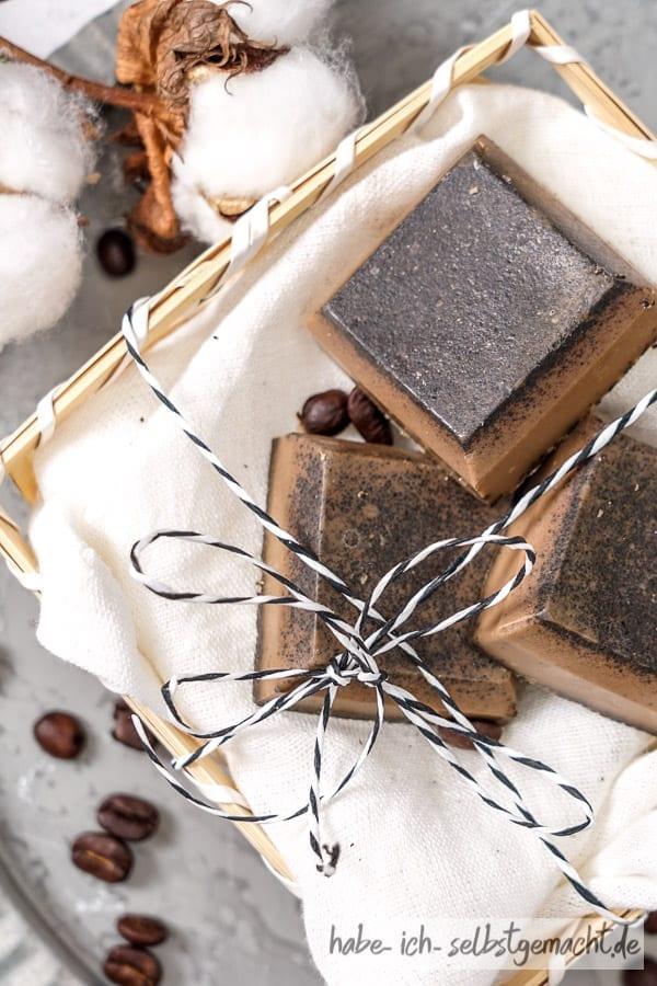 Seife selbermachen - Kaffeeseife