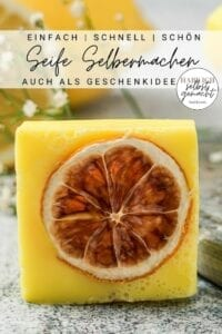 Seife einfach selber machen - Pinterest Flyer