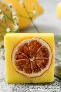 Seife selbermachen - Zitronenseife