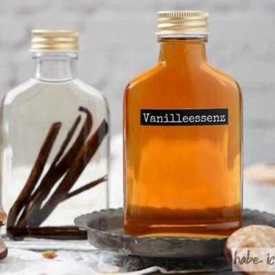 Vanilleextrakt selber machen (Vanilleessenz)
