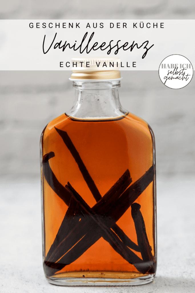 Vanilleextrakt selber machen
