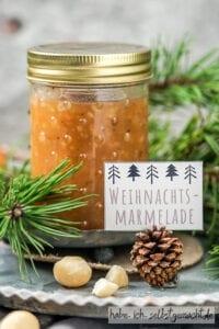 Weihnachtsmarmelade (weihnachtliche Bratapfelmarmelade)