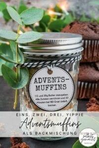 Adventsmuffins Pinterest Flyer