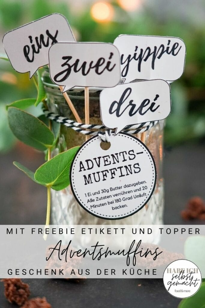 Adventsmuffins Pinterest Flyer