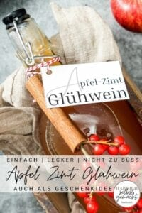 Apfel Zimt Glühwein Pinterest Flyer