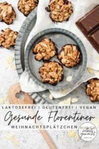 Gesunde Florentiner Plätzchen Pinterest Flyer