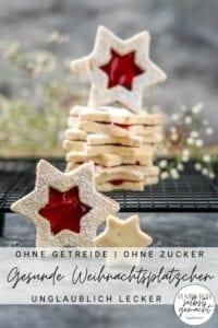 Gesunde Weihnachtsplätzchen Rezept