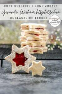 Gesunde Weihnachtsplätzchen Pinterest Flyer