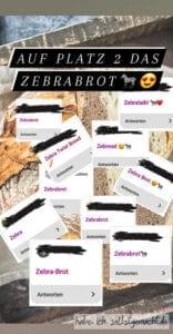 Instagram Umfrage: Wie soll unser Brot heißen?
