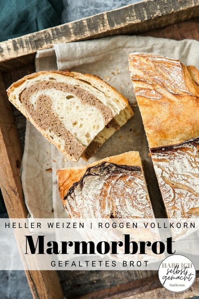 Marmorbrot (Zebrabrot) Pinterest Flyer