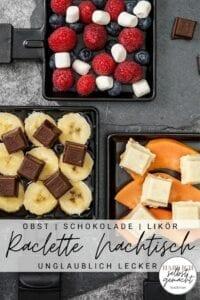Raclette Nachtisch Pinterest Flyer