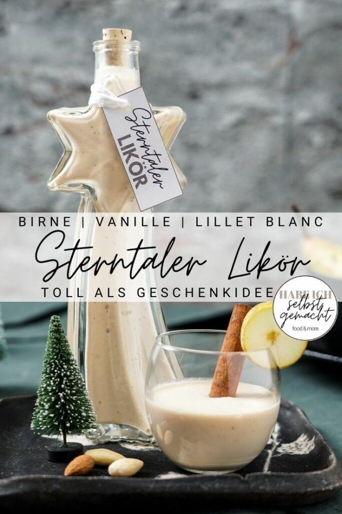 Sterntaler Likör Pinterest Flyer